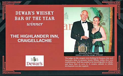 Dewars Whisky Bar of the Year 2006